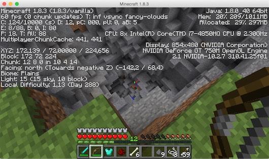 Lancer Minecraft sur OS X Yosemite avec Java 8 (sans Java 6)