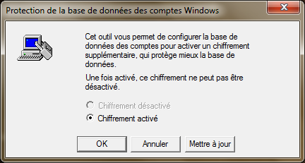 Ajouter un mot de passe au démarrage de Windows
