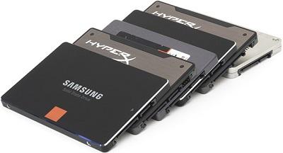 Mise en garde sur l'utilisation de SSD dans des NAS