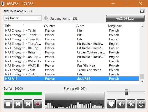 RadioSure : Ecouter la radio sur son PC