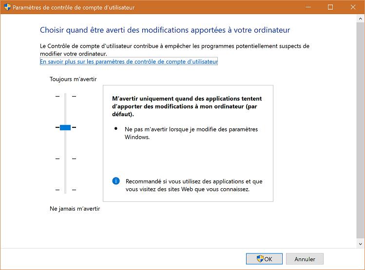 Corriger les soucis d'exécution de certaines applications après avoir mis à jour Windows 10