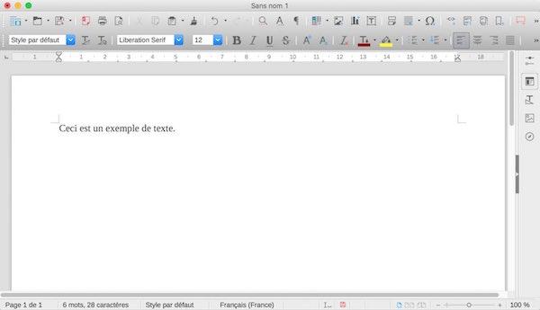 A quand une belle interface et en Retina sur LibreOffice ?
