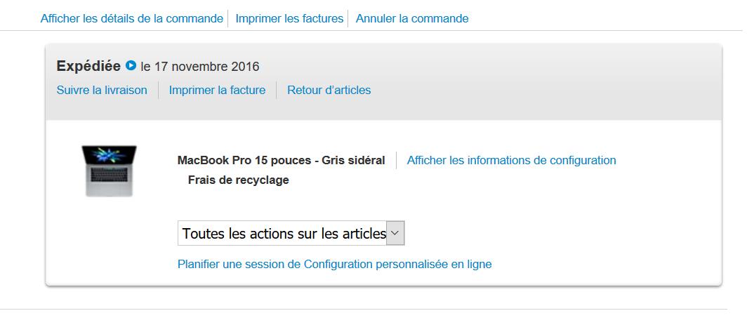 Les MacBook Pro prêts pour le débarquement en France
