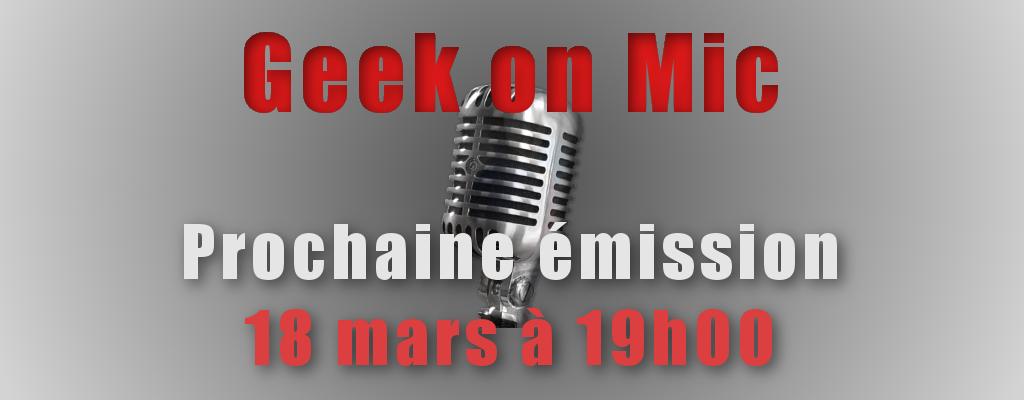 [GoM] Replay de l'émission diffusée le 18 mars