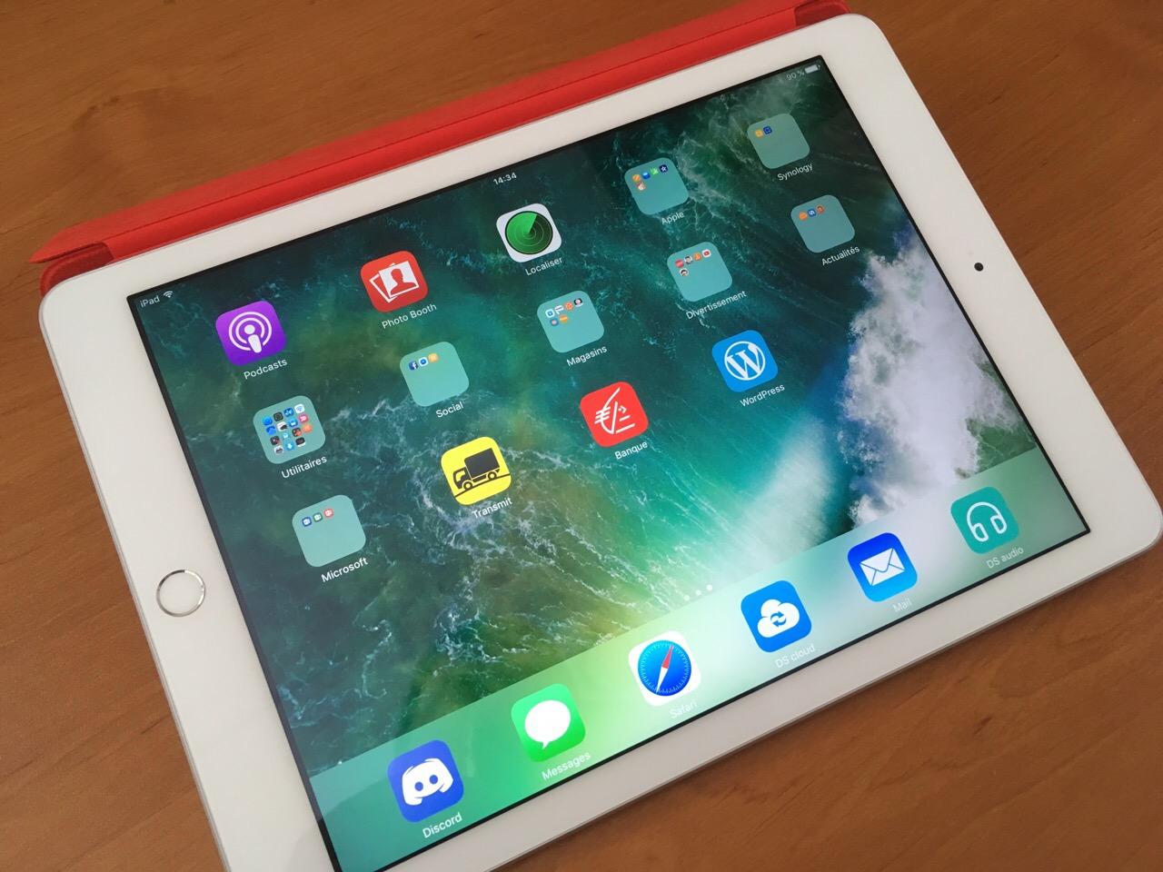 Déballage et premier test de l'iPad 2017 (iPad 5)